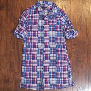 Tommy Hilfiger Girls Plaid Dress